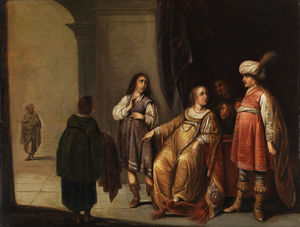 Accused by Potiphar's wife