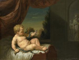 De Jonge Hércules met de Slangen