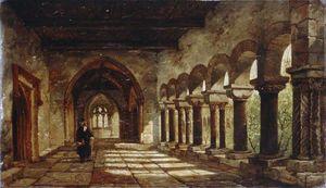 Claustros, la Catedral de Canterbury