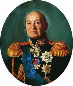 Portrait of the Adjutant General Count Arseny Andreyevich Zakrevskogo