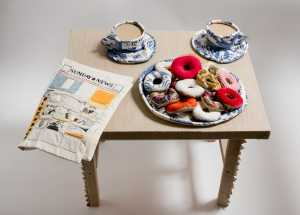 Donuts, Coffee Cups and Comic