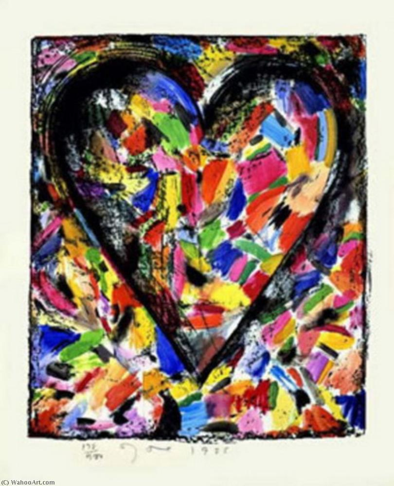 Wikioo.org - The Encyclopedia of Fine Arts - Painting, Artwork by Jim Dine - Confetti heart