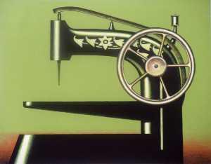 Wikioo.org - The Encyclopedia of Fine Arts - Artist, Painter  Konrad Klapheck