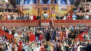 One Direction, Beyonce and Russell Brand join The Beatles in Peter Blake's updated Sgt Pepper mural at Royal Albert Hall