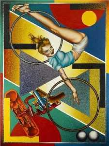 Art-O-Matic Riding High
