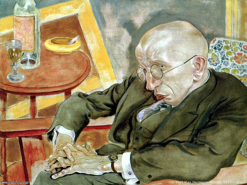 Wikioo.org - The Encyclopedia of Fine Arts - Painting, Artwork by George Grosz - untitled (5237)