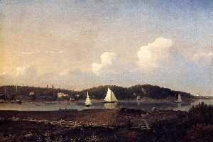 Fresh Water Cove from Dolliver's Neck, Glouster