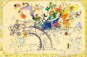 Chaos No. 1, 1974 - Jean Tinguely