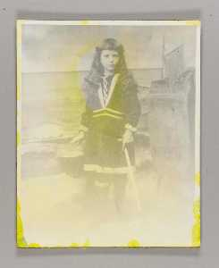 Untitled (late 19th early 20th century photo of Helen Voorhis)