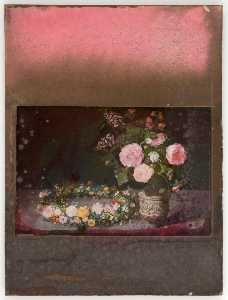 Untitled (A Still Life with Spring Flowers by Jan Brueghel the Elder (de Velours))