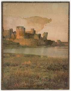 Untitled (medieval fortified city)