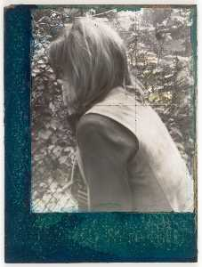 Untitled (Woman at Chain Link Fence)