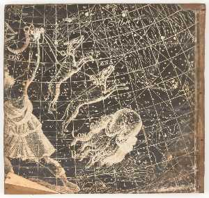 Untitled (stellar map featuring Canis Vena Tici and Coma Berenices)