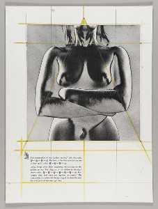 Untitled (nude female torso, solarized)