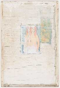Untitled (red headed female nude by Modigliani)