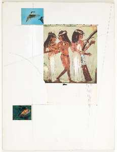 Untitled (Egyptian wall painting)