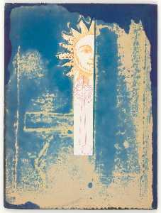 Untitled (sun face and pendulum)