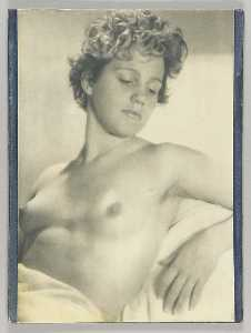 Untitled (short haired reclining female nude)