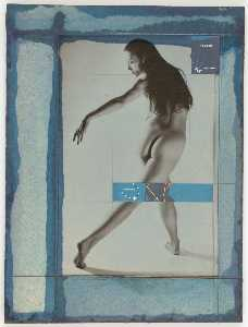 Untitled (nude in dance pose)