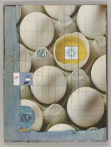 Untitled (Chinese 12 II, eggs in carton)