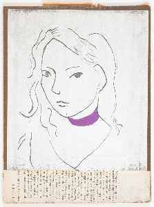Untitled (black line drawing of female)