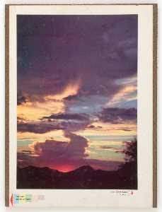 Untitled ( Cave Creek Sunset by A.W. School)