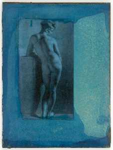 Untitled (drawing of female nude)