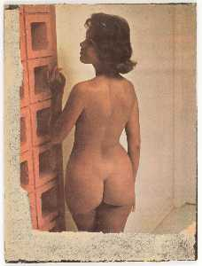 Untitled ( La Priere, kneeling female nude)