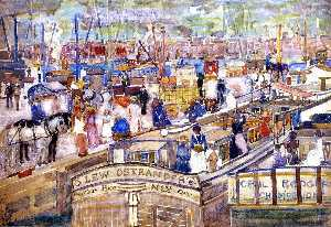 A Dock Scene