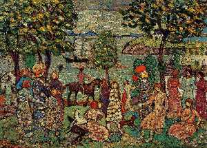 Fantasy (also known as Landscape with Figures)