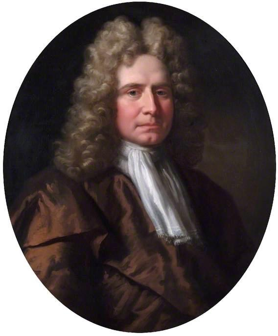 Wikioo.org - The Encyclopedia of Fine Arts - Painting, Artwork by Godfrey Kneller - Humphry Morice, Governor of the Bank of England