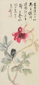 FLOWER - Zhang Daqian