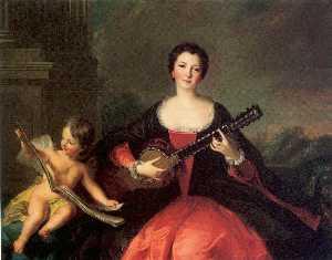 Louise Anne de Bourbon Conde, called Mlle. de Charolais