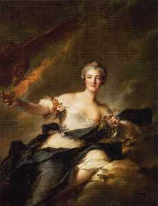 The Duchesse de Chaulnes Represented as Hebe