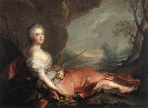 Marie Adelaide of France as Diana