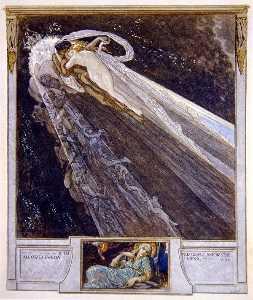插图 从 Dante's 'Divine Comedy' , 地狱 , 颂歌 V