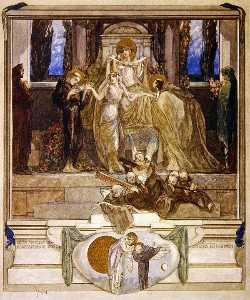插图 从 Dante's 'Divine Comedy' , 天堂 , 坎托xi