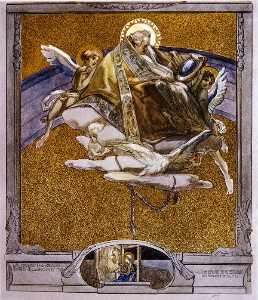 插图 从 Dante's 'Divine Comedy' , 天堂 , 颂歌 十七