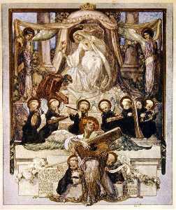插图 从 Dante's 'Divine Comedy' , 天堂 , 颂歌 三十三