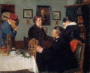 The Farewell - Harriet Backer