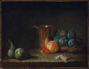 Goblet and Fruit