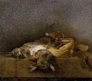 Still Life with Two Rabbits