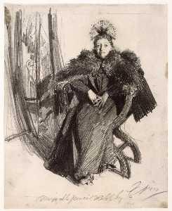 Isabella Gardner (study)