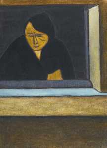 Femme a la fenetre - Leon Spilliaert