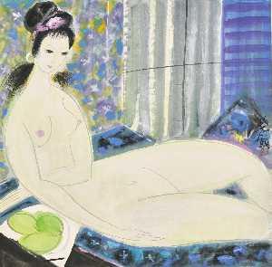 Nude Model by the Window