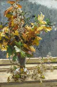Herbstlaub ( herbst blätter )