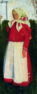 Dunya in Red