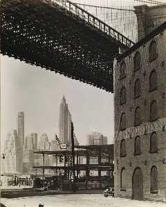 Brooklyn Bridge, Water and Dock Streets, Brooklyn