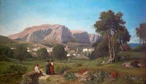 Vista de la Isla de Capri