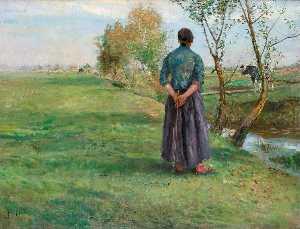 Herbst ( Shepherd auf dachau Heide )